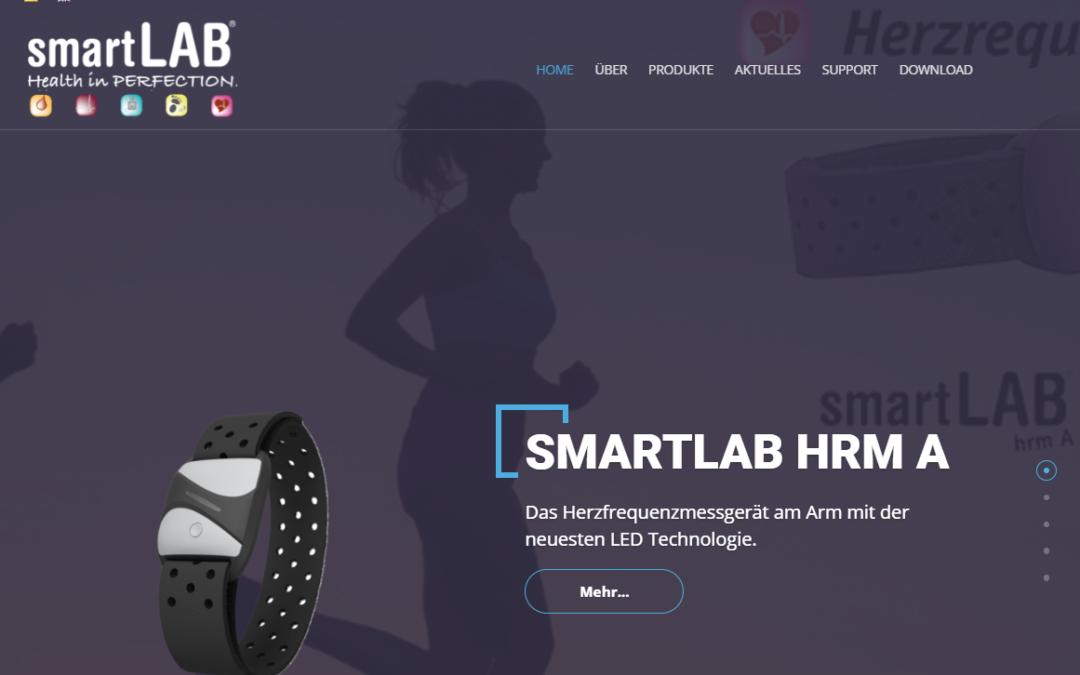 smartLAB new Web site April 2021
